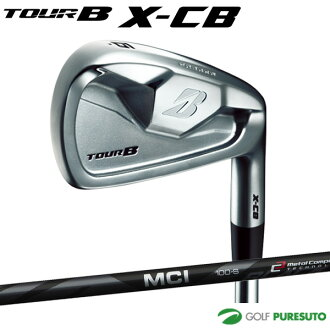 Bridgestone golf TOUR B X-CB iron six set (#5 - 9, PW) MCI BLACK 100 carbon shaft [Bridgestone Golf]