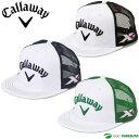 【即納!】キャロウェイ フラットメッシュキャップ 247-7984510 [Callaway Flat Mesh Cap 2477984510 帽子 平つばキャ...