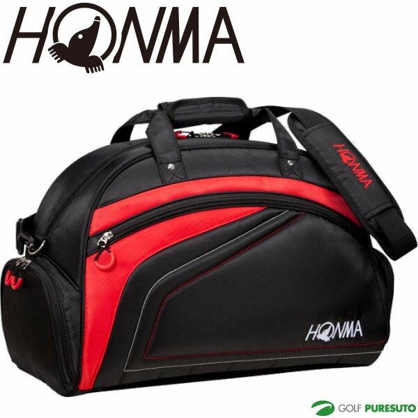 本間ゴルフ ボストンバッグ BB-1733 ブラック/レッド [HONMA ホンマ 旅行鞄]【■Ho■】