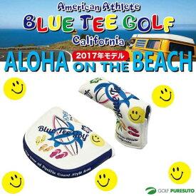 ブルーティーゴルフ カルフォルニア パターカバー アロハ オンザビーチ ●2017年モデル● マレットタイプ/ピンタイプ [BLUE TEE GOLF California ALOHA ON THE BEACH]