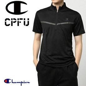 【★最大2000円OFFクーポン★】チャンピオン CPFU ハーフジップ Tシャツ HALF ZIP T-SHIRT(C3-LS305)
