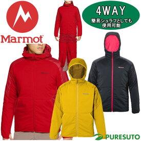 【★最大2000円OFFクーポン★】Marmot マーモット 4WAY リマーカブルパーカー メンズ MJM-F7001F ジャケット ベスト シュラフ