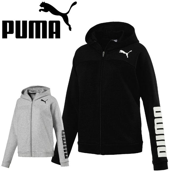 【即納!】【レディース】プーマ PUMA トレーニングウェア アーバンスポーツ フルジップロゴフーディー 594732【あす楽対応】