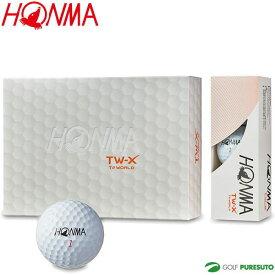 本間ゴルフ ゴルフボール ツアーワールド TW-Xボール 1ダース BT-1802