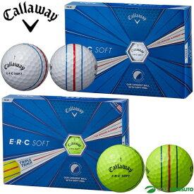 【1日はP10倍】キャロウェイ E・R・C ソフト ゴルフボール 1ダース トリプルトラック