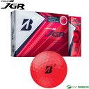 【★最大3000円OFFクーポン★】ブリヂストンゴルフ TOUR B JGR ゴルフボール 1ダース マットレッドエディション