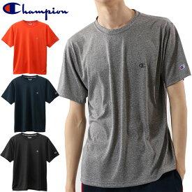 チャンピオン champion C VAPOR Tシャツ 半袖 C3-QS301 メンズ 19FW スポーツ 抗菌 防臭 吸汗速乾