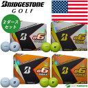 【US仕様】ブリヂストンゴルフ e6 SPEED/SOFT ゴルフボール 2ダースセット