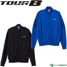 【最大6%OFFクーポン有】ブリヂストン TOUR B 防風フルジップセーター メンズ 6GKT1B