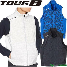 【P3倍★最大2000円OFFクーポン】ブリヂストン TOUR B フルジップベスト メンズ KGM01C