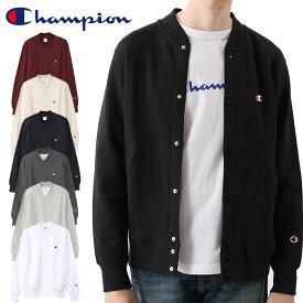 【ポイント5倍!】チャンピオン champion スウェットカーディガン C3-Q003 メンズ 長袖 裏毛 ベーシック ジャケット