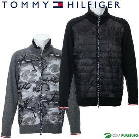 トミー ヒルフィガー ゴルフ カモフラージュ ジップアップニット メンズ THMA9A4 セーター