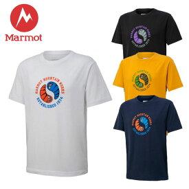 \★先着クーポン配布中★/マーモット Marmot スリープハーフスリーブクルー TOMPJA59 Tシャツ 半袖 メンズ UVカット UPF15