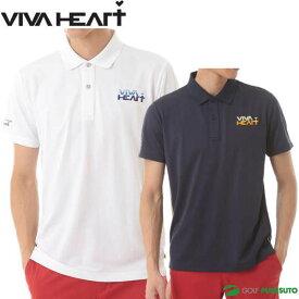 ビバハート シャドーボーダー 半袖ポロシャツ メンズ 011-22441