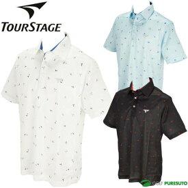 \★先着クーポン配布中★/ブリヂストン ツアーステージ 半袖ポロシャツ メンズ NTM03A