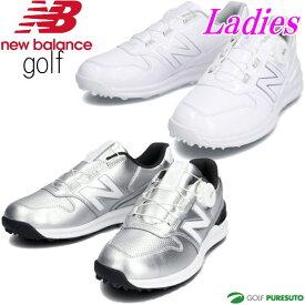 【レディース】【日本仕様】ニューバランス ゴルフシューズ WGBS996 D相当 スパイクレス