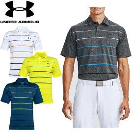 アンダーアーマー UNDER ARMOUR ゴルフ UAプレーオフポロ2.0 1327037 メンズ 半袖 ポロシャツ UPF30 抗菌 防臭 ストレッチ ゴルフ スポーツ トレーニング