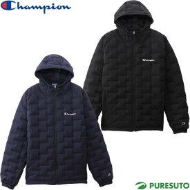 チャンピオン champion ジップフードダウンジャケット メンズ C3-QS602 フルジップ 防寒