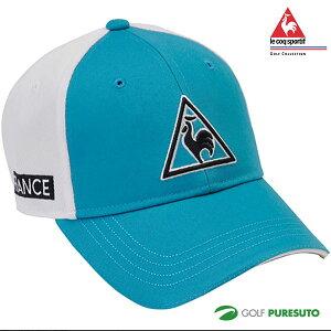 ルコック ゴルフ ゴルフキャップ クリップマーカー付き QGBPJC01-BL00