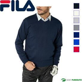 フィラゴルフ Vネック セーター メンズ 789-710