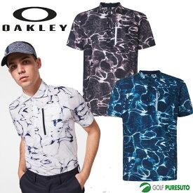 【1日はP5倍】オークリー ゴルフ 半袖ポロシャツ シニュアス グリッドシャツ メンズ FOA402501