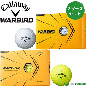 キャロウェイ ゴルフボール ウォーバード 2ダースセット(24球入)2021年モデル
