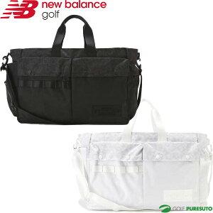 ニューバランス ゴルフ ボストンバッグ バスケットクロス×リップストップ 012-1281001 保温保冷ポケット付き