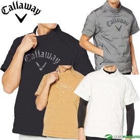 キャロウェイ 半袖 ダウン プルオーバー メンズ 241-0216503 ゴルフウェア