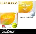 【オウンネームボール★3ダース】タイトリスト グランゼ ゴルフボール 3ダース[Titleist GRANZ]【■Aco■】