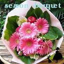 【送料無料】プリにお任せ花束  プレゼント ギフト 写真 ピンク・レッド・イエロー・ホワイト【あす楽対応_関東】…