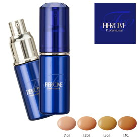 クオレ フィアシブ RCエマルジョンファンデーション (全4色)SPF24/PA++ パフ付き美容液のようなファンデーション
