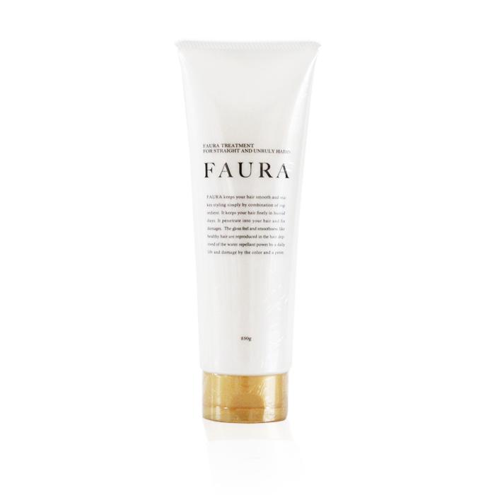 髪が硬い、剛毛、くせ毛、広がる髪 専用「FAURA ファウラ ヘアトリートメント 250g」水分とオイルバランスに着目した持続性トリートメント