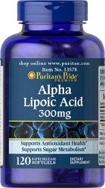 ピューリタンズプライドアルファリポ酸  300 mg.