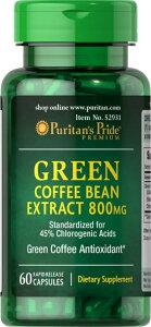 ピューリタンズプライドグリーンコーヒー豆エキス800 mg 炭水化物の吸収、体重減少、免疫システムの強化、血圧の低下、ブドウ糖の燃焼。 ビタミン、ミネラル、サプリメント、健康、ウェ