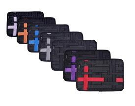 PURPLE7 オーガナイザー インナーバッグ iPadケース インナーケース ガジェット デジモノ アクセサリー 固定ツール A4サイズ