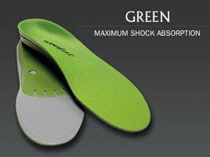 (日本正規販売店)SUPERFEETスーパーフィート(トリムフィットシリーズ)(GREENグリーン)正規品インソール