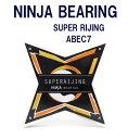 NINJA BEARING ニンジャ ベアリング (SUPER RIJING) スーパー雷神 SIZE:ABEC7(オイルタイプ) 正規品 SKATEBOARD スケートボード スケボ…