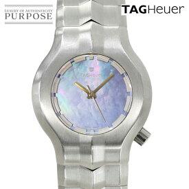 【電池交換 済み】 タグホイヤー TAG HEUER アルターエゴ WP1312 レディース 腕時計 ブルーシェル 文字盤 クォーツ ウォッチ 【中古】
