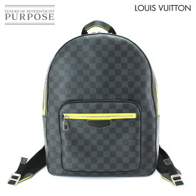 57f63d012360 中古 【未使用 展示品】 ルイ ヴィトン LOUIS VUITTON ダミエ グラフィット ジョッシュ バックパック リュックサック ジョーヌ  N42414 【中古】