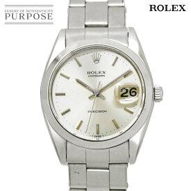 ロレックス ROLEX オイスター デイト プレシジョン 6694 1番 手巻き ヴィンテージ メンズ 腕時計 シルバー 文字盤 アンティーク ウォッチ 【中古】
