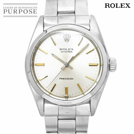 ロレックス ROLEX オイスター プレシジョン 6426 3番 手巻き ヴィンテージ メンズ 腕時計 シルバー 文字盤 アンティーク ウォッチ Oyster Precision 【中古】