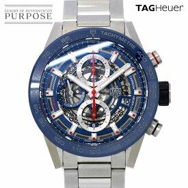 タグホイヤー TAG HEUER カレラ キャリバーホイヤー01 CAR201T.BA0766 クロノグラフ メンズ 腕時計 デイト スケルトン オートマ 自動巻き ウォッチ 【中古】