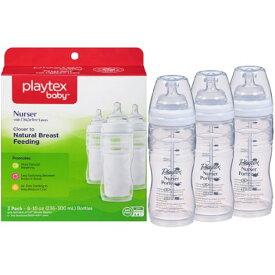 Playtex(プレイテックス)携帯用使い捨て哺乳器 <ドロップインシステム> 3P 約230ml(8オンス) BPAフリー 並行輸入
