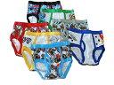 ディズニー(Disney) カーズ2 男の子 パンツ 7枚セット (並行輸入品) (2〜3歳、4歳)