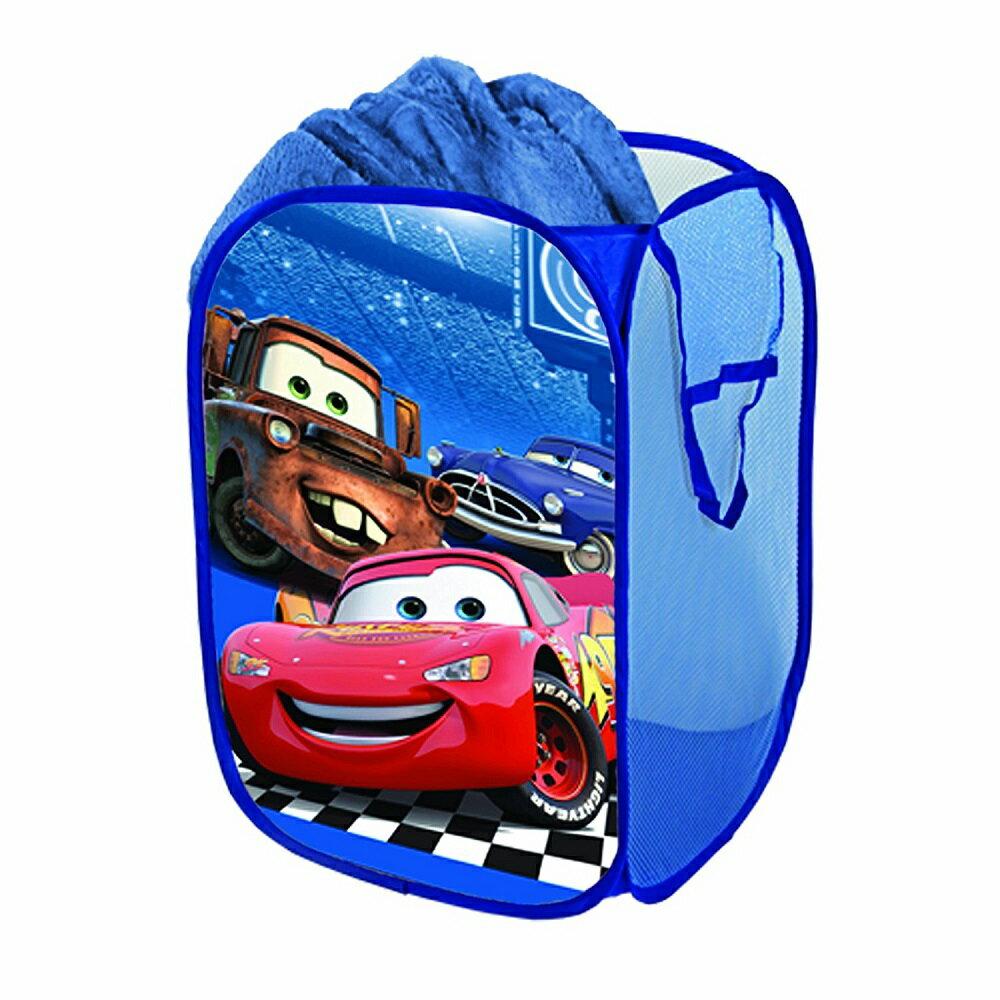 Disney (ディズニー)カーズ ランドリーバスケット おもちゃ入れ 小物入れ 並行輸入品