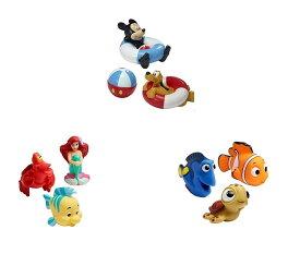 ディズニー おふろおもちゃ  大好きなDisneyキャラとお風呂で遊ぼう! 並行輸入品 ミッキーマウス ファインディングニモ アリエル