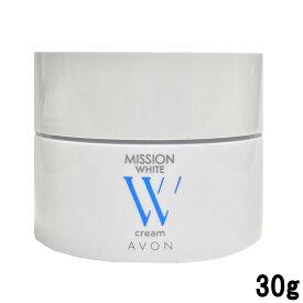 エイボン ミッション ホワイト クリーム 30g [ AVON / フェイスクリーム / スキンケア ]【tg_tsw】【ID:0050】【w】『1』【 定形外 送料無料 】