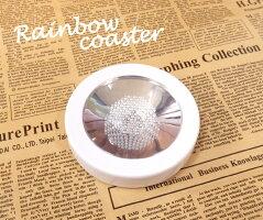 [ジョイキャンドル]LEDライトレインボーコースター