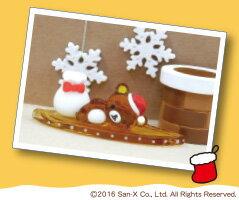 リラックマクリスマスセット1リラックマ&サンタ袋