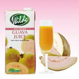 ワイルドストレートグァバジュース(果汁100%) 1L【10P06Aug16】